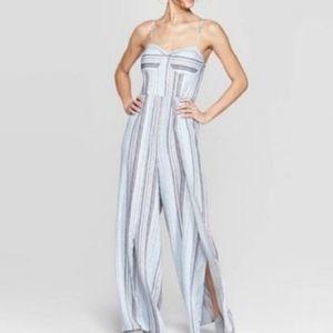 Xhilaration Striped Jumpsuit